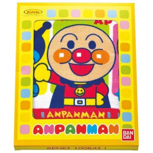アンパンマン フェイスタオル AP23101(8%OFF)(出産内祝い お返し 結婚 入学祝 ギフト 引き出物 贈答品)|aikuru
