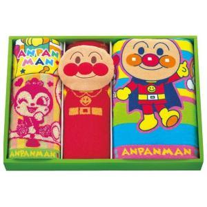 アンパンマンパペット バス フェイス ウォッシュタオルセット AP23504(8%OFF 出産内祝い お返し 結婚 入学祝 ギフト 引き出物 贈答品)|aikuru