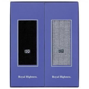 ロイヤルハイネス 紳士刺しゅう入ソックス2足セット 0120 内祝 ギフト 贈り物の商品画像|ナビ