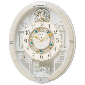 セイコー メロディ電波からくり掛時計(39曲入) RE576A(送料無料)(出産内祝い お返し 結婚 入学祝 ギフト 引き出物 贈答品)|aikuru
