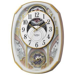 スモールワールド メロディ電波からくり時計(30曲入) 4MN551RH03(送料無料)(出産内祝い お返し 結婚 入学祝 ギフト 引き出物 贈答品)|aikuru
