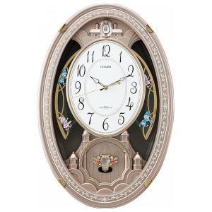シチズンメロディ電波掛時計(30曲入) 4MN485AZ13(送料無料※沖縄 離島除く)(出産内祝い お返し 結婚 入学祝 ギフト 引き出物 贈答品)|aikuru