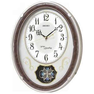 セイコー メロディ電波掛時計(18曲入) AM259B(送料無料)(出産内祝い お返し 結婚 入学祝 ギフト 引き出物 贈答品)|aikuru