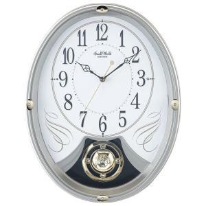 スモールワールドメロディ電波掛時計(12曲入) 4MN528AZ18(送料無料※沖縄 離島除く 出産内祝い お返し 結婚 入学祝 ギフト 引き出物 贈答品)|aikuru