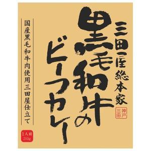三田屋総本家 黒毛和牛のビーフカレー (出産内祝い お返し 結婚 入学祝 ギフト 引き出物 贈答品) aikuru