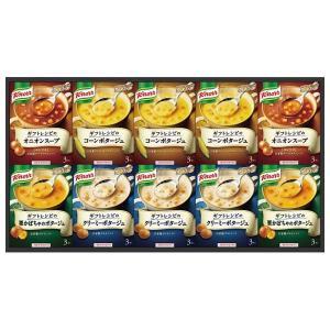 味の素 ギフトレシピ クノールスープギフト KGS-30C(8%OFF)(出産内祝い お返し 結婚 入学祝 ギフト 引き出物 贈答品) aikuru