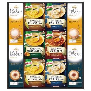 味の素 ギフトレシピ クノールスープ&コーヒー KGC-30F(8%OFF)(出産内祝い お返し 結婚 入学祝 ギフト 引き出物 贈答品) aikuru