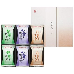 アマノフーズ フリーズドライ 味わいづくしギフト(12食) M-150A(8%OFF)(出産内祝い お返し 結婚 入学祝 ギフト 引き出物 贈答品) aikuru