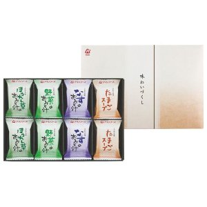 アマノフーズ フリーズドライ 味わいづくしギフト(16食) M-200A(8%OFF)(出産内祝い お返し 結婚 入学祝 ギフト 引き出物 贈答品) aikuru