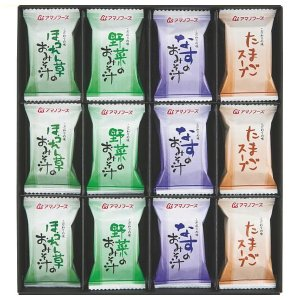 アマノフーズ フリーズドライ 味わいづくしギフト(24食) M-300A(8%OFF)(出産内祝い お返し 結婚 入学祝 ギフト 引き出物 贈答品) aikuru