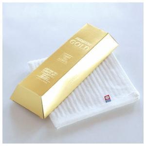 今治金塊純白ハンドタオル(出産内祝い お返し 結婚 入学祝 ギフト 引き出物 贈答品 お歳暮) aikuru