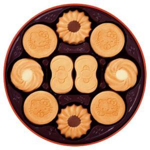 ブルボン ハローキティバタークッキー缶 32795(出産内祝い お返し 結婚 入学祝 ギフト 引き出物 贈答品)|aikuru
