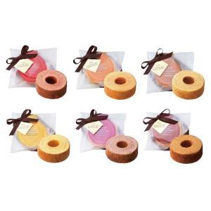 バウムクーヘン 6BAUMS 1365(ご注文数 84個以上より※納期約7〜9日(土日祝除く) のし包装メッセージカード対応不可品※味の指定は不可)|aikuru