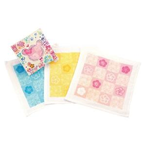 メルペール 和ガーゼタオルハンカチ 770-57(のし包装メッセージカード対応不可品)(※色の指定は不可)|aikuru