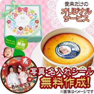 (内祝い 写真 名入れ 5個以上より) ヌベール銘菓 コローレ・フロマージュ CO-F10 (納期:10〜14日(土日祝除く)) 引出物・引き菓子|aikuru
