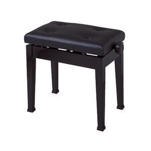 【送料無料】イトマサ ITOMASA AS/BK ピアノイス 高低自在椅子