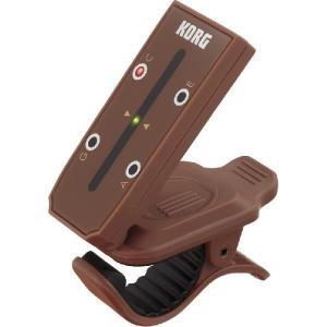 KORG クリップ型 ウクレレチューナー Headtune HT-U1 ヘッドチューン ウクレレのヘッド型 チューニング 一目でわかる LowGにも対の商品画像 ナビ
