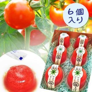 愛知県 / 送料無料 かけてびっくり塩トマトゼリー 6個入り トマト 塩トマト 製菓 菓子 スイーツ|aimarche