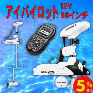 自宅直送 12v60in アイパイロット ミンコタ 12ボルト 60インチ 海水仕様 リップタイド TERROVA55/IP BT-60 55ポンド 送料込み