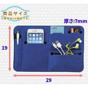 バッグ イン バッグ フラットタイプ インナーケース 鞄 整理 小物 小分け ポケット 多い インナーバッグ 厚さ7mm|aimcube|04