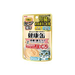 AIXIA(アイシア) シニア猫用 健康缶パウチ コラーゲンペプチドプラス 40g /★税込11,000円以上で送料無料(北海道、沖縄、一部地方除く)★|aimu