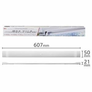 GEX(ジェックス) クリアLED POWER SLIM 600ホワイト 観賞魚用ライト ホワイト 60cm水槽用 奥行スリム5cm|aimu