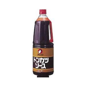 オタフクソース オタフク トンカツソース ハンディボトル2.1kg×2ケース(全12本)【送料無料】の商品画像 ナビ