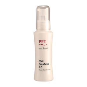 定形外郵便・送料無料 洗い流さない美容乳液 PPTヘアエマルジョン5.5 (ノンシリコン・ヘマチン・ペリセア・リピジュア配合)アイナボーテ|ainastyle