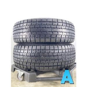 中古タイヤ スタッドレスタイヤ 2本セット 185/70R14   イエローハット アイスフロンテージの画像