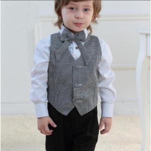 フォーマル 男の子用スーツ 男の子 4点セット子供 スーツ子供服 卒業式 七五三 結婚式 入学式 発表会|ainio