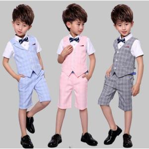 フォーマル 男の子用スーツ 男の子 3点セット子供 スーツ子供服 卒業式 七五三 結婚式 入学式 発表会|ainio