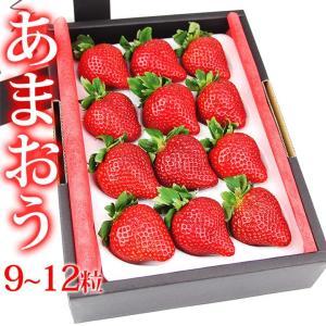 イチゴ 苺 果物 くだもの フルーツ 端午の節句【厳選大粒 いちご】 【あまおう 福岡産 EX・9〜12粒】|aino-kajitu