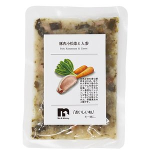 ME&MOMMY 豚肉小松菜と人参 レシピ3 人と同じ食事 無添加 ミー&マミー|ainstock