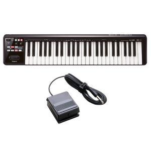 Roland A-49-BK(ペダルスイッチ/DP-2付) MIDIキーボード・コントローラー