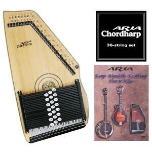 【専用弦+教則DVD付】ARIA ACH-210S コードハープ/オートハープ|aion