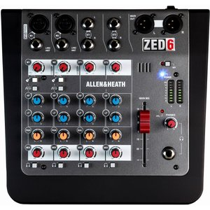 【ポイント10倍】ALLEN&HEATH ZED-6 ZED6/X 正規輸入品 A&H/送料無料|aion