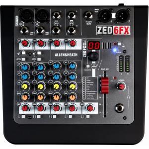 【ポイント10倍】ALLEN&HEATH ZED-6FX ZED6FX/X 正規輸入品 A&H/送料無料|aion