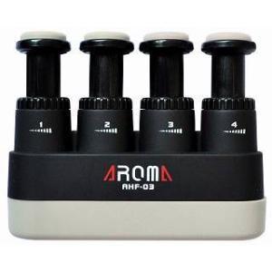 AROMA AHF-03/BK(黒) 握力強化 ハンドエクササイザー/メール便発送・代金引換不可|aion
