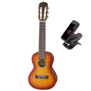 Aria AGU-160/TS/KORGクリップチューナー付 6弦 テナーウクレレ ミニギター ギタレレG-Uke|aion