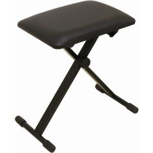 【ポイント10倍】ARIA AKB-100 4段階高さ調整 折り畳みイス / キーボードベンチ / ピアノ椅子/送料無料 aion