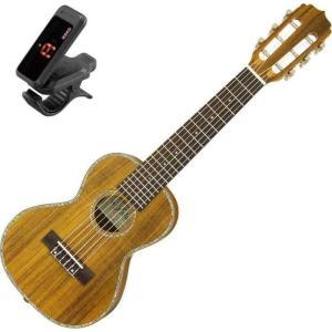 Aria ATU-180/6K/KORGクリップチューナー付 6弦 テナーウクレレ ミニギター ギタレレG-Uke|aion