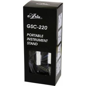 ARIA GSC-220 アルミ製 軽量 コンパクト ギタースタンド エレキ アコギ 対応/送料無料|aion|04