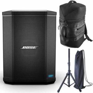 BOSE S1 Pro/専用バックパック+スピーカースタンド付 マルチ・ポジション PA システム aion