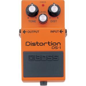 BOSS DS-1 Distortion ディストーションの原点機、王道の歪サウンド