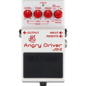 BOSS JB-2 Angry Driver JHS Pedalsとの共同開発による今までになく幅広...