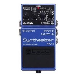 BOSS ボス SY-1 Synthesizer ポリフォニックギターシンセサイザー コンパクトエフェクター SY1の商品画像|ナビ