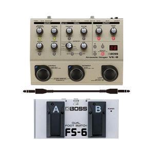 BOSS VE-8(フットスイッチ/FS-6+接続ケーブル付)|aion