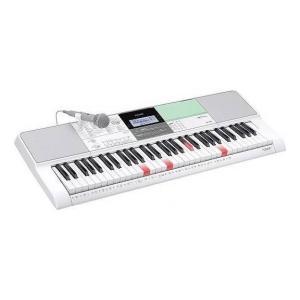CASIO LK-512 光ナビ&らくらくモードですぐ弾ける 楽しく歌えるマイク付