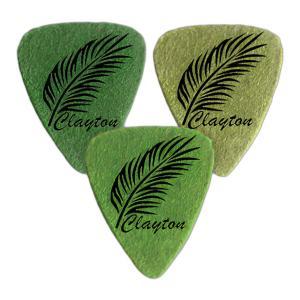 Clayton UKE STD FELT LEA (パームリーフ) ウクレレ用 フエルト フェルト ピック /3枚セット/メール便発送・代金引換不可|aion