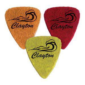 Clayton UKE STD FELT WAV (ウェーブ) ウクレレ用 フエルト フェルト ピック /3枚セット/メール便発送・代金引換不可|aion